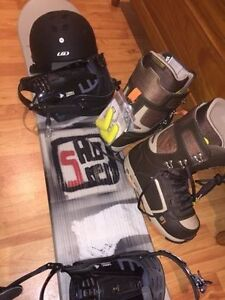 BRAND NEW Salomon AMP 164 Snowboard Package never used!!