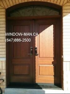 Fiberglass Replacement Door Entry Exterior  Custom