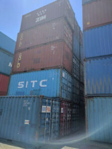 20' Used Shipping Containers for Sale