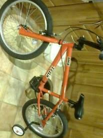 Boys child's Trax bmx bike