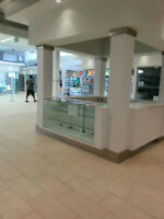 FURNISHED NEWLY BUILT KIOSK ONLY $999 ON RENT IN BUSY MALL.