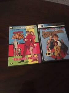 Austin Powers 2 and 3 DVDs