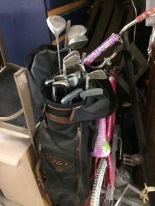 Des outils pour le golf en très bonne etat