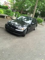 VENTE PRIVÉE // BMW 323i 2007 **BLACK/BLACK**