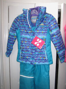 "Snowsuits, girls (""xmtn"") sz. 7, boys ""Monster"" size 10, BNWT"