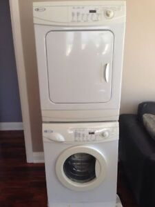 Digital Maytag stackable Washer & Dryer