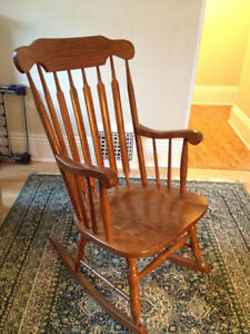Beautiful Rocking Chair Excellent Condition Cobourg