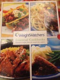 Weight watchers Cookbooks set of 4