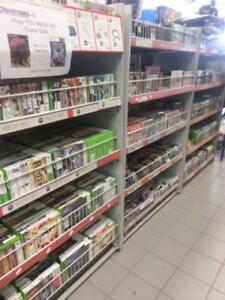 We sell used Video Games, Consoles, and Accessories. Nintendo, Playstation, Xbox, Gameboy, Retro and Vintage too!