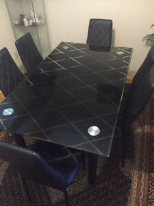 Glass design Dining Table