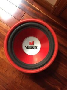 "Selling visonik 12"" subwoofer"