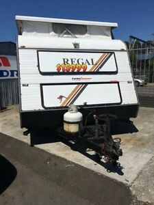 1995 Regal TOURER 15FT White Pop Top Unanderra Wollongong Area Preview