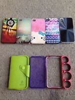 iPhone 4/4s Cases - $5 each or all for $25