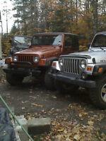 pieces jeep tj yj et jk a bon prix a st-jérome achat et vente