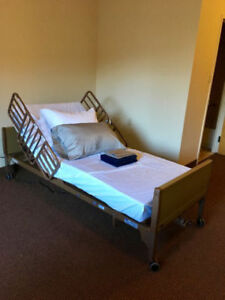 Full Electric Hospital bed in New condition+all its accessories