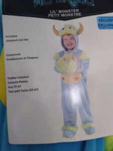 Lil monster costume - Brand New