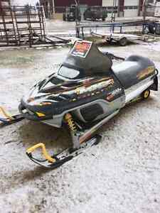 3 Snowmobiles and 2 place trailer starting at $1700.00 Regina Regina Area image 3