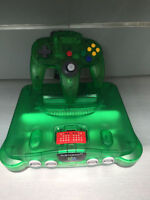 "Console N64 ""jungle green"" seulement 99,95$"