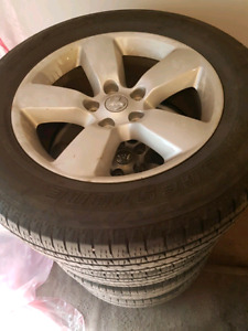 Rims and Tires MAKE ME A REAL OFFER I WANT THEM GONE!!!