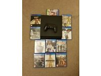 Playstation 4 with 11 games