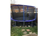 16ft trampoline with enclosure in CARSHALTON