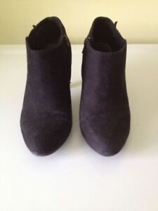 LADIES FALL BLACK ANKLE BOOTS