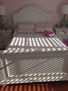 Beautiful Girls full/double Butterfly bedding and lamps