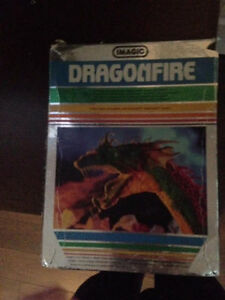 INTELLIVISION DRAGONFIRE BY IMAGIC IN BOX
