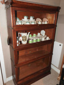 antique old barrister / lawyers bookcases.. any conditon