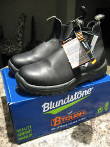 BLUNDSTONE BLACK SHOES MENS SIZE 10 Kitchener / Waterloo Kitchener Area image 2