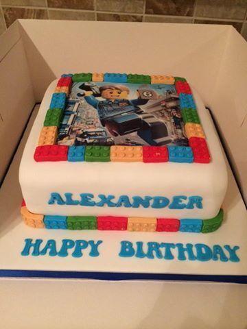 my personalised birthday cake