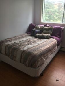 *GREAT DEAL* Double Bed Set + Bed Frame