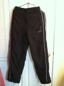 R & R Sport Heavy Black Snow pants (Snowmobiling)