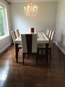 Dining Table with 6 chairs and Buffett NEW*