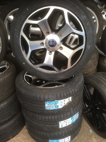 """18"""" FORD TRANSIT ST STYLE ALLOY WHEELS / TYRES 5 X 160 FITMENT"""