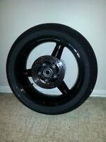 GSXR Rear Wheel and Tire
