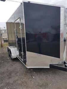 NEW 2019 7X14 7X16 ENCLOSED SPECIAL ON IN STOCK UNITS