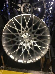 19 inch Niche Citrine Wheels -- Silver / Machined -- 5x100