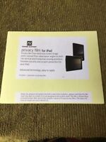 iPad privacy film new