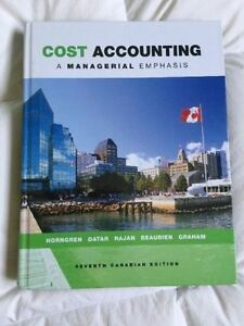 Cost Accounting - 7th Edition