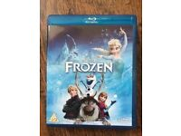 Frozen blu-ray DVD