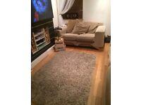 Laura Ashley cream rug