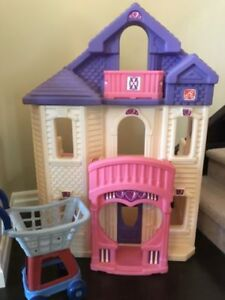 Extra large Step2 doll house