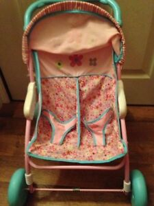 Double Doll Stroller