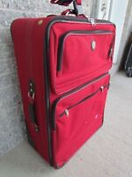 TRES GRANDE VALISE VOYAGE A ROULETTE AMERICAN TOURISTER