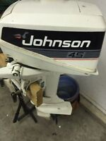 1991 Johnson 4.5HP 2-stroke