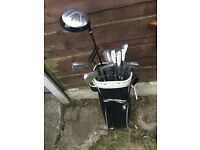Full golf set + bag