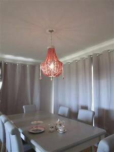 Timber Beaded Chandelier Pendents - Clearance Stock Subiaco Subiaco Area Preview