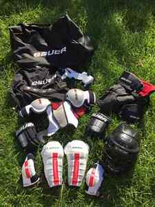 Ensemble BAUER complet hockey junior 5 ans