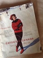 EATON'S Mail Order Catalogue - 1961